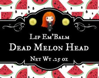 "Lip Gloss ""Dead Melon Head"", Cucumber Melon Lip Gloss"