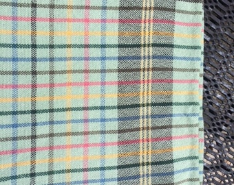 Retro Plaid - Cottage Green - Back in Stock but going fast!