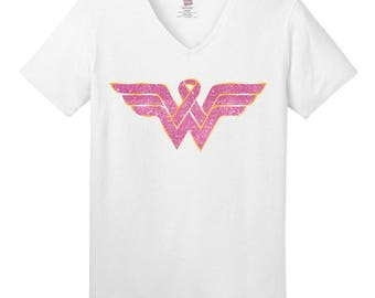 Breast Cancer Awareness, Wonder Woman, Fight like a girl, Cancer Awareness, Brave, Beat Breast Cancer