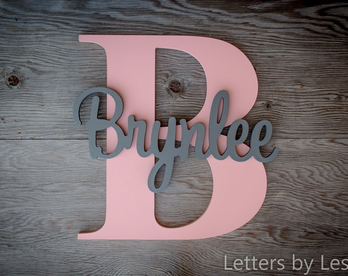 Wood Letters, Wooden Letters, Wood sign, Name Plaque, Name signs, Custom made signs, Wall Art, Wall hanging sign