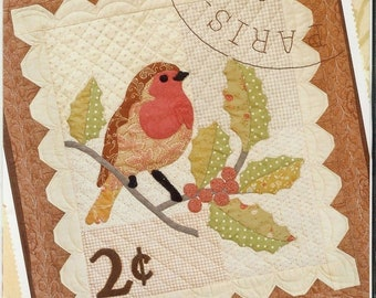 Quilt Patter by Fig Tree and Co, Joanna Figueroa:  Winter Robin