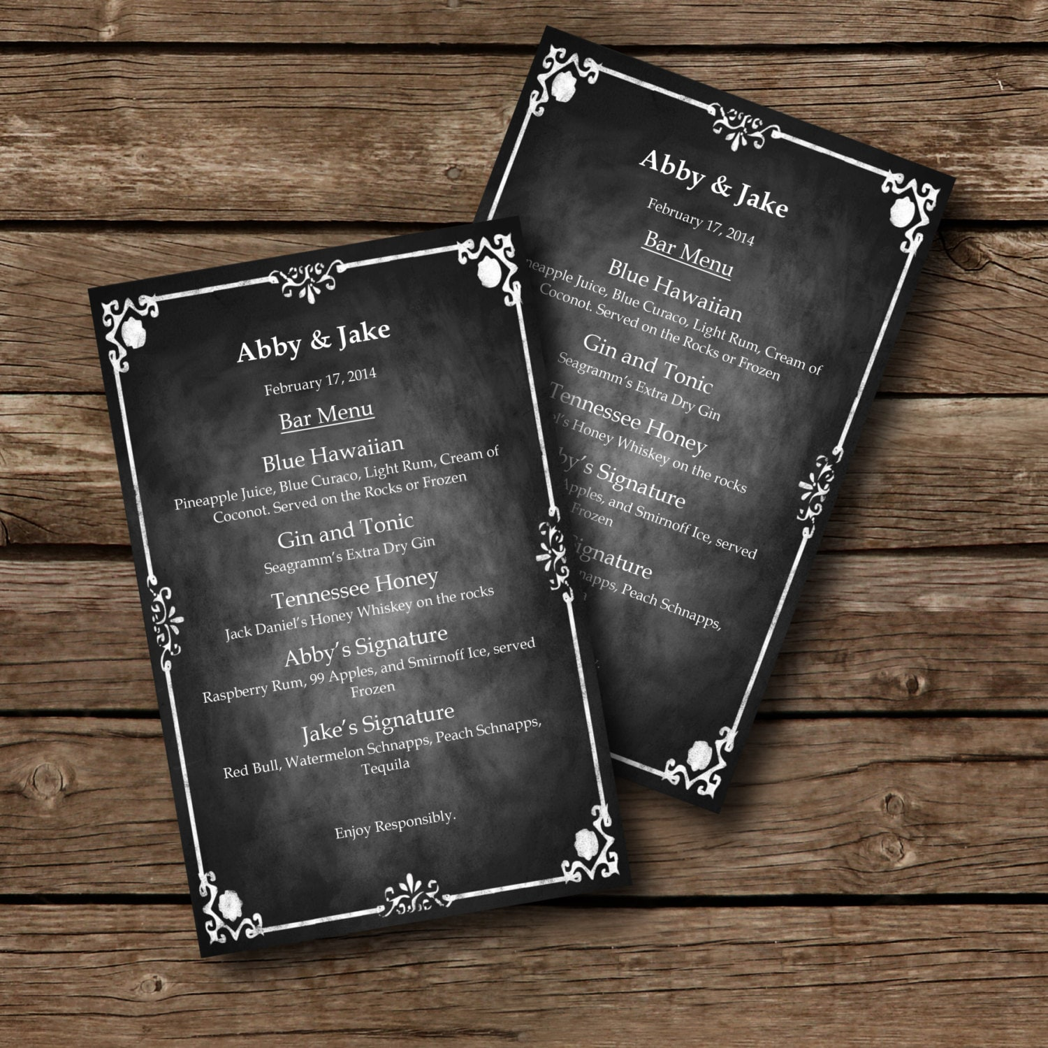 Editable MENU Template Chalkboard Style Word Document Il Fullxfull Editable Menu  Template Chalkboard Style Menu Template Word Free Menu Template Word Free  Free Menu Templates For Word