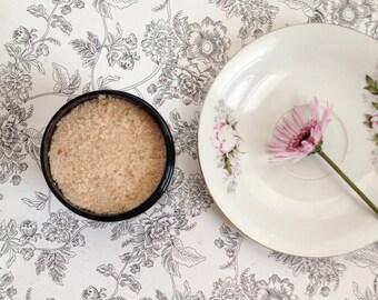 All Natural Cinnamon Orange Sugar Scrub 8 oz - Bath and Beauty Product