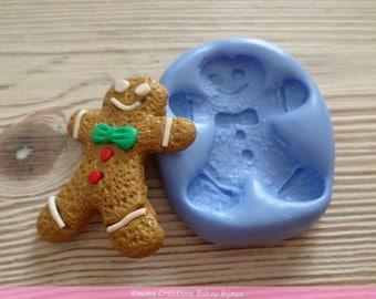 MOLD Christmas gingerbread men