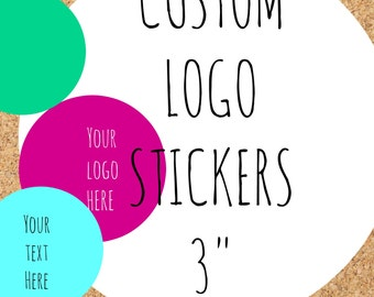 custom logo stickers,custom labels,logo stickers,candle labels,soap labels,personalized stickers,personalized labels,custom,circle labels