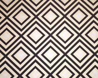 One (1) Yard -Geo Pop Canvas Geometric Fabric Robert Kaufman AHK-15035-188 Pepper