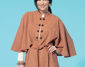 McCall's Pattern M7291 Misses' Capelets, Vest and Belt