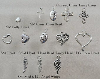 Add A Charm - Personalized Necklace Charm Add On - Extra Charm - Christmas