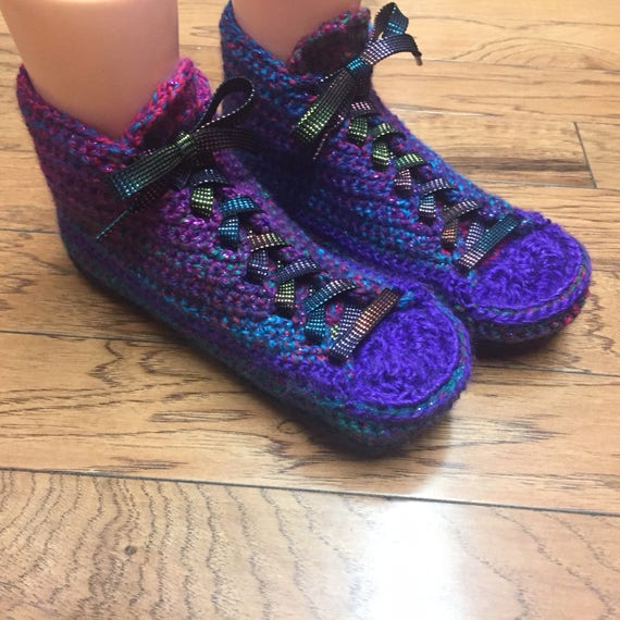 81a55c8dd20e97 ... bling shoes shoes house slippers sneakers purple 9 purple slippers 7  house tennis shoe sneaker Listing ...