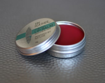 TABOO Tinted Lip Balm | Lip Balm | Lip Tint | Organic | Vegan | Cruelty-free | Handmade | Cosmetics | Makeup