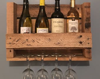 HALF PRICE SALE! Pallet Wine Rack - Small