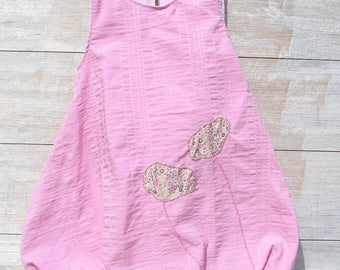 Robe boule rose liberty fairford