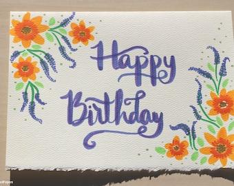 Happy Birthday Card \\ Carte Joyeux Anniversaire