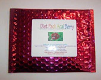 Organic, Garcinia Cambogia, Acai Berry Pulp, Diet Pack, Super Fruit