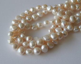 10mm Flat Round Pearls