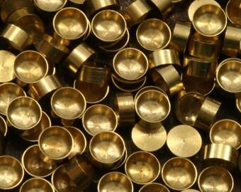 100 PCS Raw Brass 4 mm Pendant finding Setting 1543