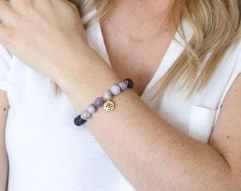 Essential Oil Om Bracelet - Essential Oil Diffuser Bracelet