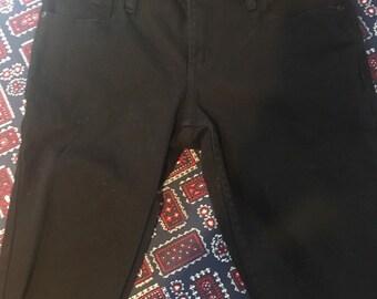 RUDE punk dude unisex 30 waist cut off short black