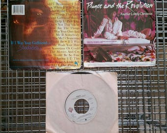 Three (3) 45 RPM: Prince and the Revolution 2 with Photo Sleeves