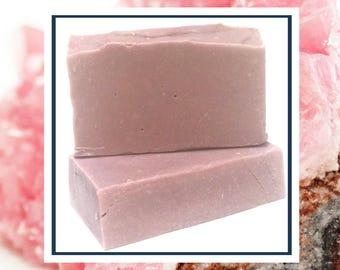 Rose Soap -  Jasmine Soap - Vegan Soap Luxury Soap Bar Sandalwood Soap Handcrafted Soap Natural Rose Soap Mother's Day Gift
