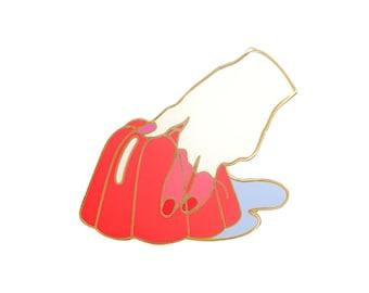 Jelly Finger Lapel Pin