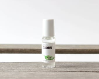 Relaxing Roll on Blend - Essential Oils: Lavender, Peppermint, Basil, Cypress & Marjoram Essential Oils. Wearable Essential Oil Rollon Blend
