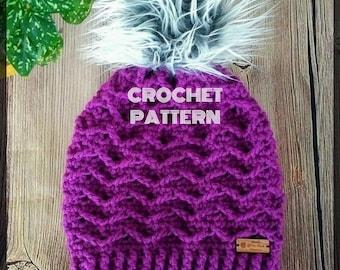 Crochet Hat Pattern, Crochet Beanie Pattern, Crochet Slouchy Hat Pattern, Slouch Hat Pattern, Crochet Beanie Pattern, Beanie Pattern