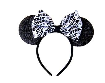 Star Wars Mickey Ears, Star Wars Ears, Disney Ears, Mickey Mouse Ears, Custom Mickey Ears, Star Wars Minnie Ears, Star Wars, Mickey Ears