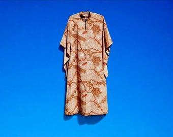 1940's Watumull's Hawaiian Kimono Dress Aloha Dress