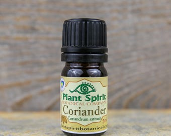 Organic Coriander Essential Oil | 5 ml | Coriander sativum | Russia