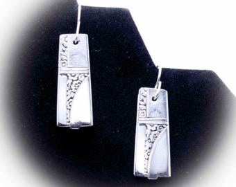 Silver Spoon Earrings CAPRICE Jewelry Vintage, Silverware, Gift, Anniversary, Wedding, Birthday