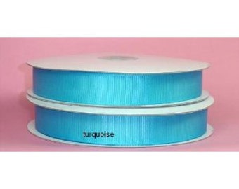 1.5 inch x 50 yds grosgrain ribbon - TURQUOISE