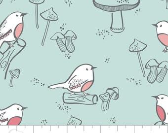 Camelot Fabrics Little Bird, Bird Print Cotton Fabric, 100% Cotton Quilt and Patchwork Fabric