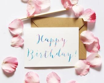 Printable Friend Birthday Card, Printable card for girlfriend, Printable Birthday Card Her, Printable friend card, Birthday Digital Download