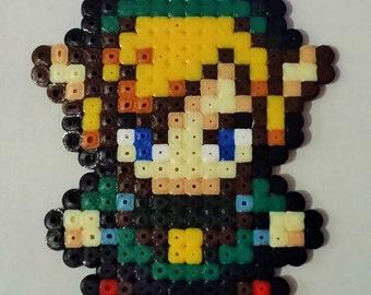 Link pixel art beading beads