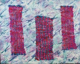 Handmade Art Quilt - WEAVING 3