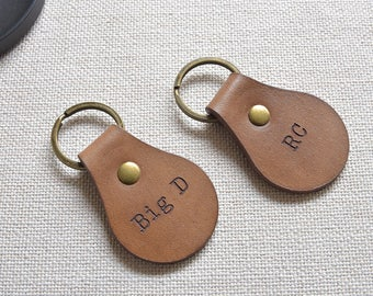 Leather keychain, keychain, personalized womens, key organizer, key chain, key chains for women, mothers day gift, key fob, mens gift