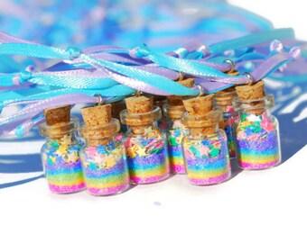 Fairy Party Favor Necklace rainbow pastel, Princess Party Favor, Fairy Necklace, Fairy, Faerie