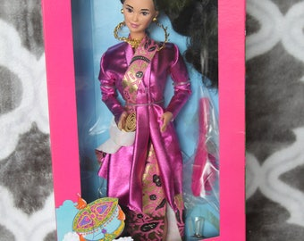 1990 Barbie Dolls of the World Malaysian # 7329