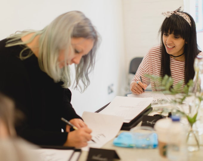 Featured listing image: 26TH MAY 2018 Modern calligraphy workshop in Manchester