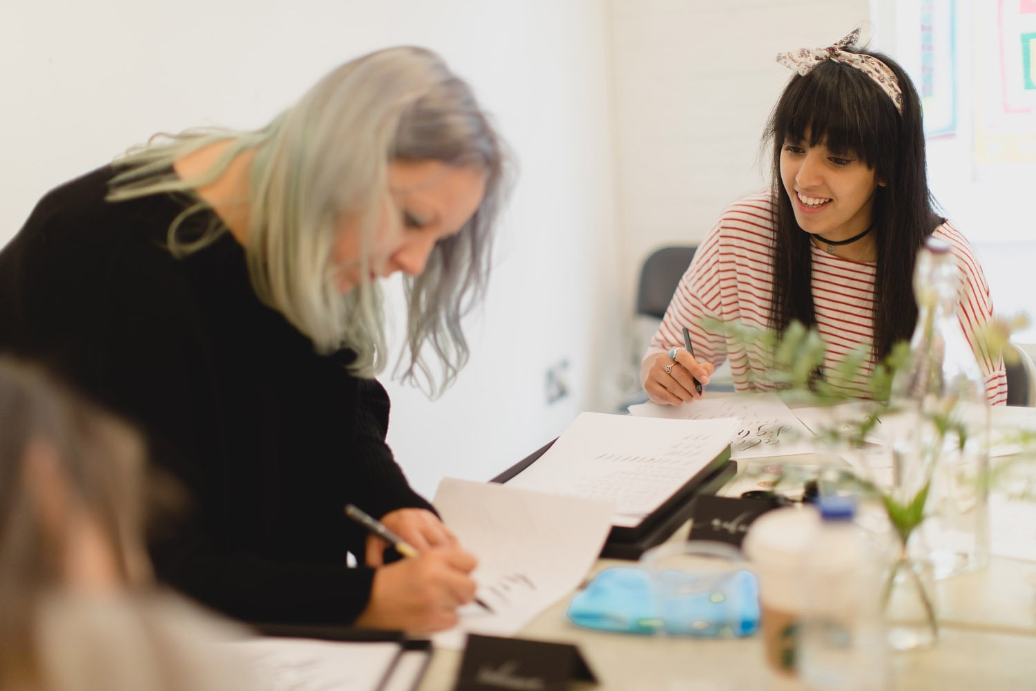 26th may 2018 modern calligraphy workshop in manchester