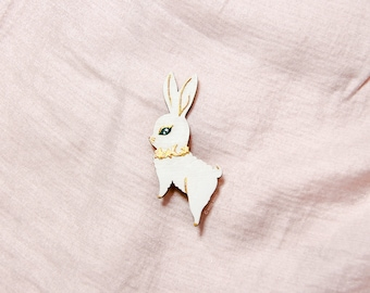 Brooch : Reach for the Star (White)