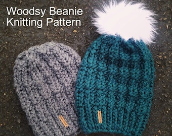KNITTING PATTERN The Woodsy Beanie