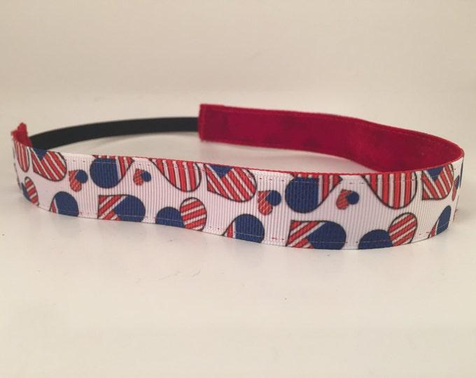 Nonslip Headband America's Love