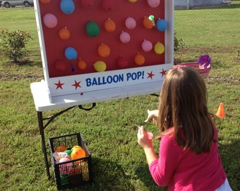 Dart Balloon Pop Carnival Game for Birthday, Church, VBS, School Party, or Trade Show. Carnival Games
