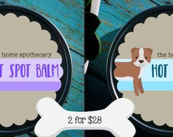 SALE - 2 for 28 - Soft Spot & Hot Spot Doggie Balms