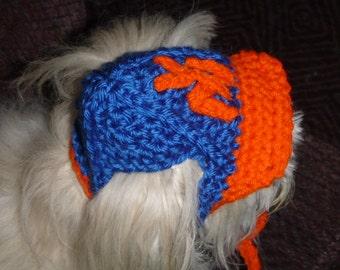 BASEBALL Cap Dog hat TEAM SPORT - 2 to 20 lb pets - need measurement