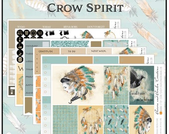 Crow Spirit weekly Kit for HP, Big HP and EC
