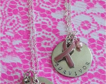 Breast Cancer Personalized Pendant