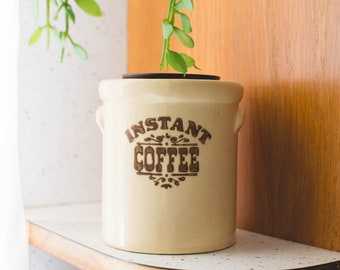 Instant Coffee Container